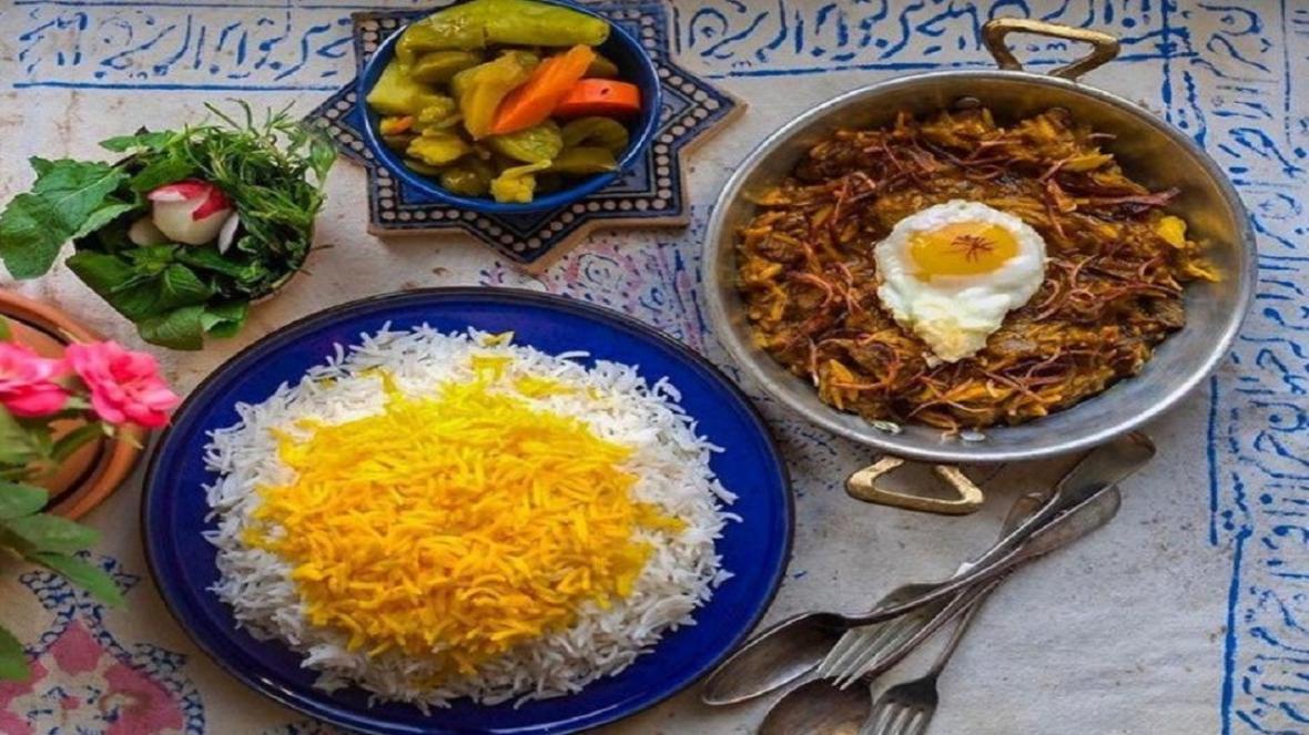 طرز تهیه خورش پیچاق قیمه مجلسی اردبیل